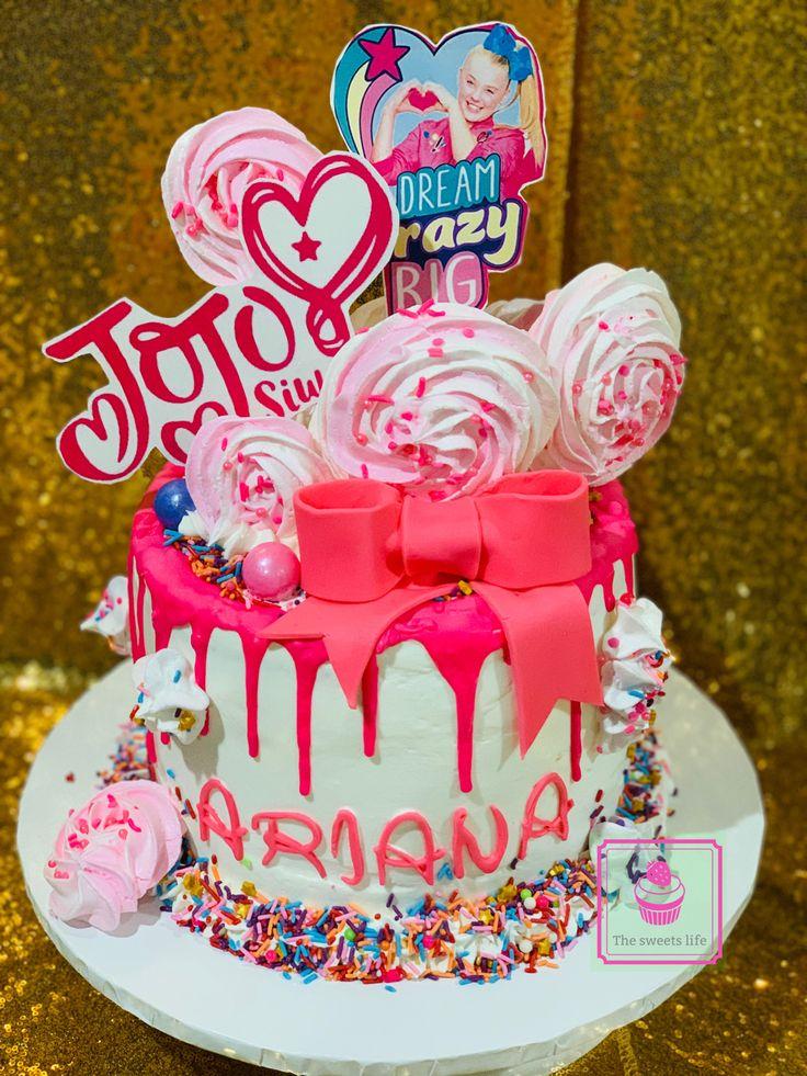 Jojo Siwa cake in 2020 Themed cakes, Cake, Custom cakes