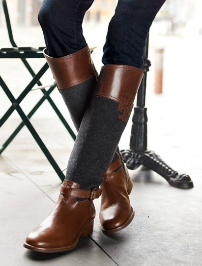 tory burch -   I love these boots!