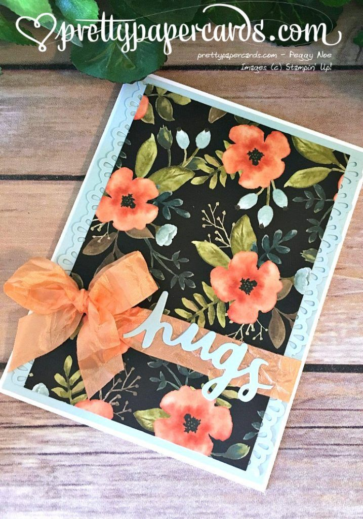 Stampin' Up! Whole lot of lovely, lovely words thinlit, August Pals Blog Hop: Cut it Out! - Pretty Paper Cards