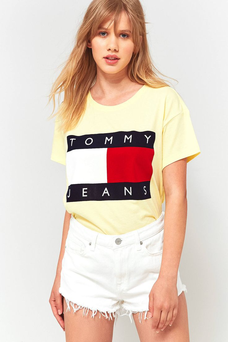 cd137950 Tommy Jeans 90s T Shirt Womens Uk
