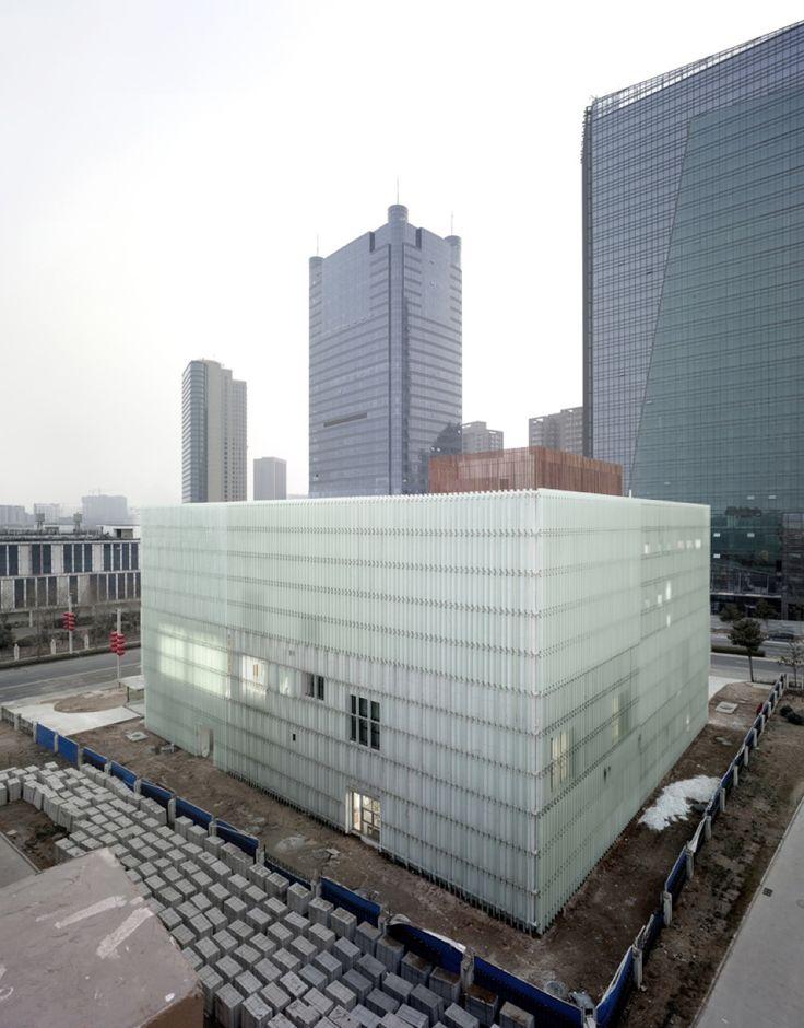 Zhengdong District Urban Planning Exhibition Hall / AZL architects