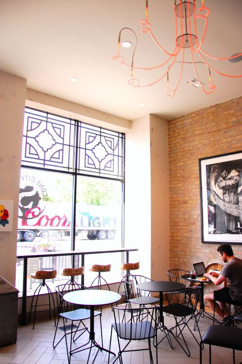 Scone City in Wicker Park, Chicago, IL. Check out these cool neighborhood hot spots. #Chicago