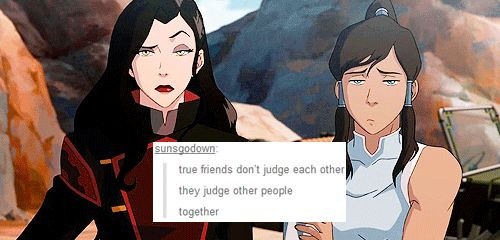 I like this because they are just best friends because I don't ship them because of how amazing mako and korra are together though I am not against korrasmi