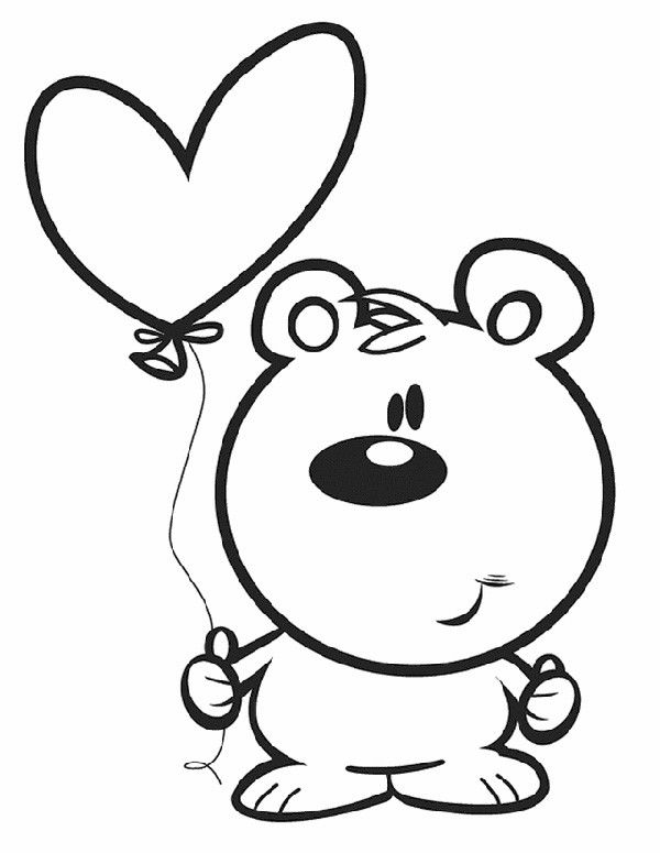 29 Valentine's Day Coloring Pages To Print For Kids ...