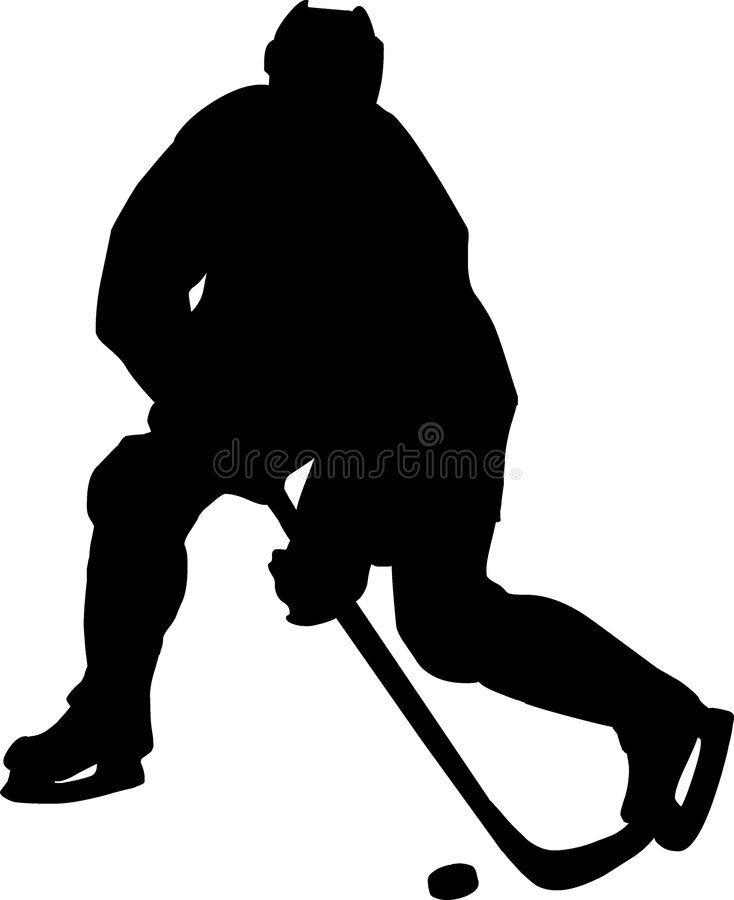 Hockey Vector Drawing Ice Hockey Forwarder Spon Drawing Vector Hockey Forwarder Hockey Ad In 2020 Vector Drawing Silhouette Human Silhouette
