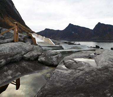 Norwegian bridge by Code Architectur