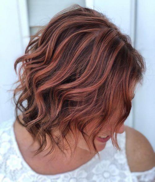 35 Stunning Brown Hair with Highlights Trending This Year #darkbrownhair