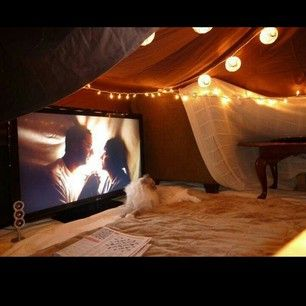 Make a blanket fort. | 19 Cheap Valentine's Date Ideas That Won't Make You Look Stingy