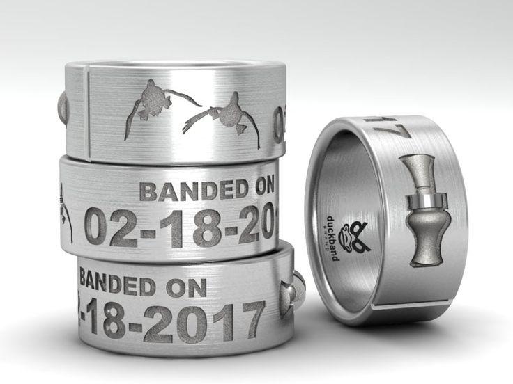 Custom Made To Order Duck Band Wedding Ring By Duckbandbrand