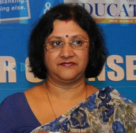 Arundhati Bhattacharya takes charge as SBI chief