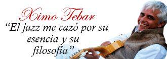 XIMO TEBAR, EL JAZZ ME CAZÓ POR SU ESENCIA Y SU FILOSOFÍA » El guitarrista valenciano visitó Córdoba en el pasado Festival de la Guitarra, ahora habla para Córdoba Buenas Noticias sobre su experiencia en nuestra ciudad y nos cuenta todos los detalles de cuales son sus próximos proyectos. Fuente:http://cordobabuenasnoticias.com/2014/07/30/ximo-tebar-el-jazz-me-cazo-por-su-esencia-y-su-filosofia/