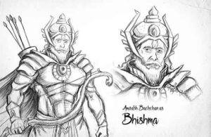 Amitabh Bachchan as Bhishma