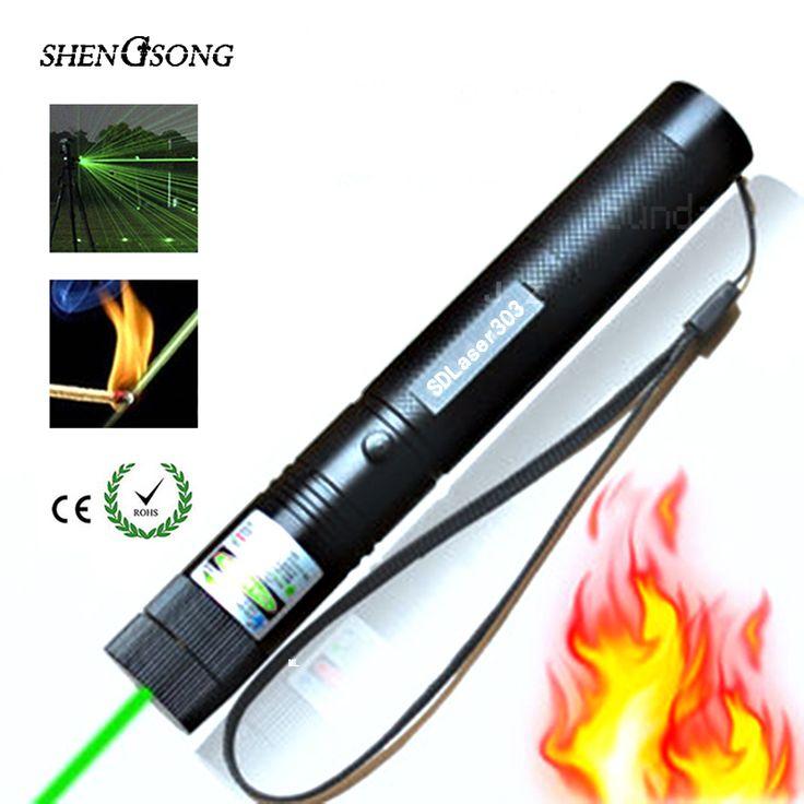 長距離レッドグリーンレーザー視力ライフルスコープライフルスコープ532nmの強力なレーザーポインター電池含まず