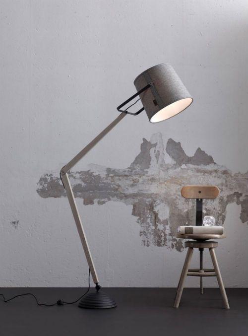 """""""Light"""" by LEUCHTEND GRAU ++ Full story: http://www.leuchtend-grau.de/2014/09/schoner-schein-stehlampe-von-lampgustav.html"""