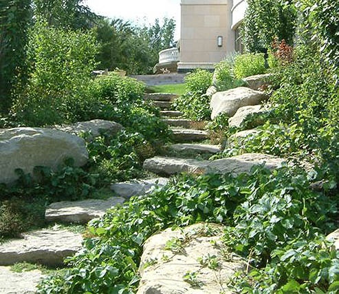 17 best images about garden rocks boulders on for Landscaping with rocks and boulders