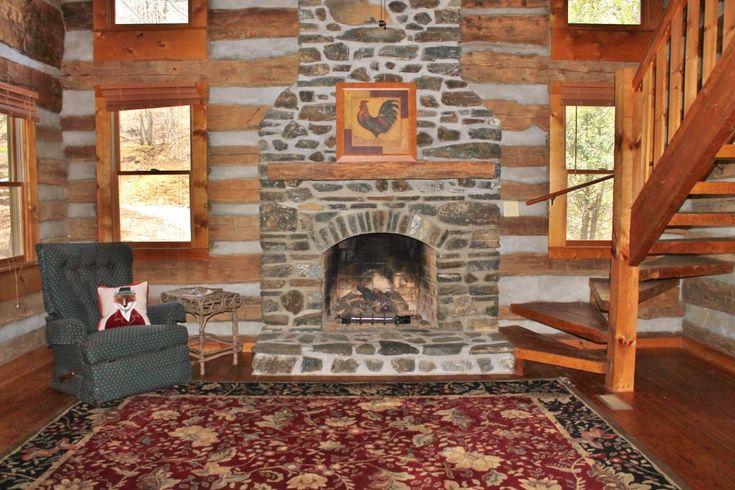 NC Mountain Log Cabin Retreat