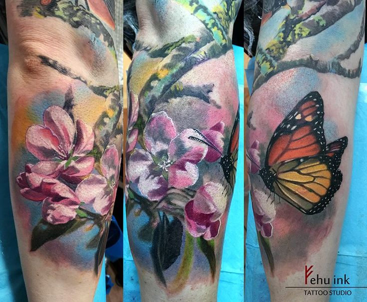 Floral tattoo by elle limited appointments at revival