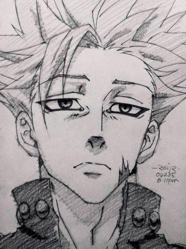 Dibujos Anime: Dibujo A Lapiz Anime, Dibujos