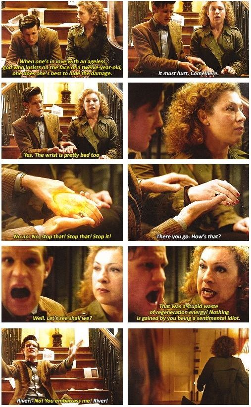 Doctor Who. I've always thought this scene was really emotional.