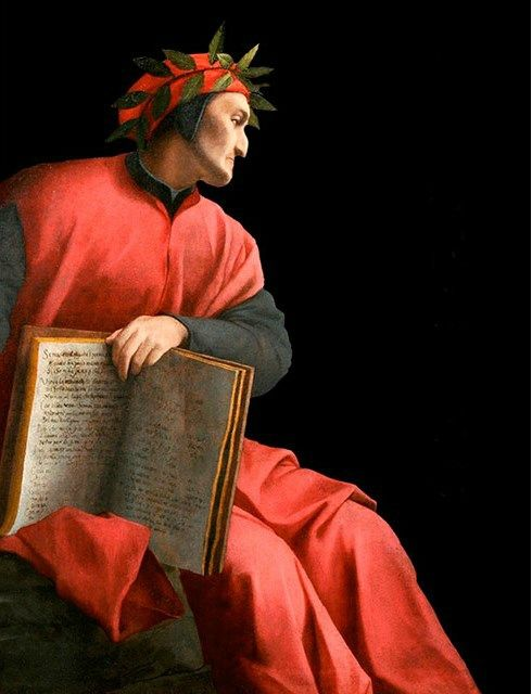 Agnolo Bronzino (1503-1572), Allegorical Portrait of Dante, 1532-1533. Oil on canvas, 51 x 53 in. (130 x 136 cm) Private collection, Florence.
