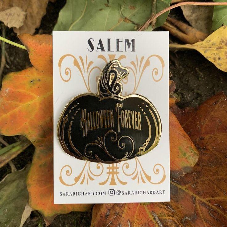 Halloween Forever Enamel Pin — Sara Richard