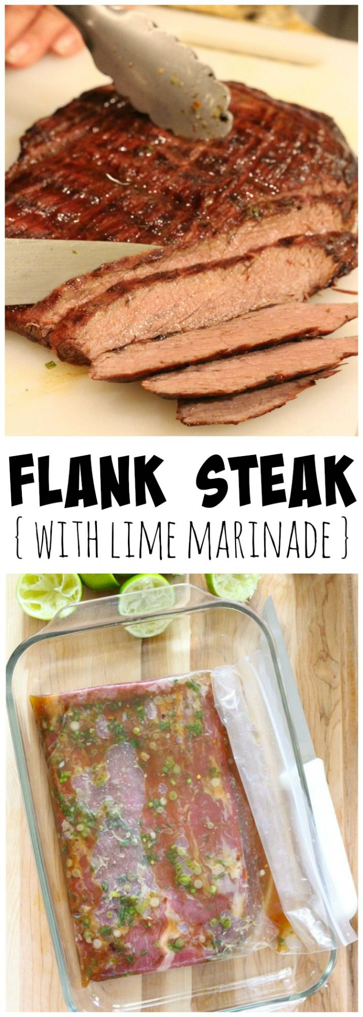 Flank Steak with Lime Marinade Recipe
