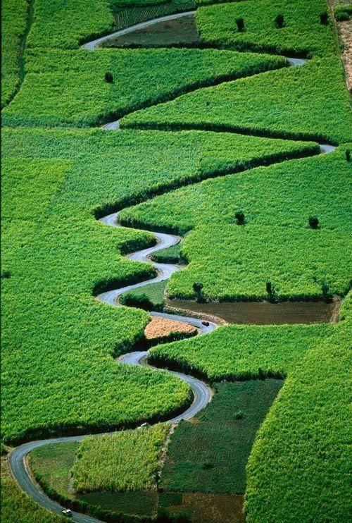 Switch Back Road, New Caledonia
