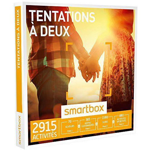 SMARTBOX – Coffret Cadeau – TENTATIONS À DEUX – 2915 Expériences : Séjour, Séance Bien-être, Gastronomie ou Aventure: 2350 expériences :…