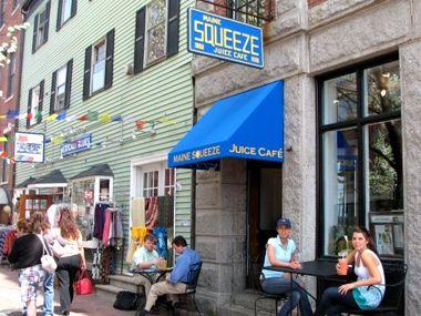 Maine Squeeze Juice Cafe   Juice Bars - Portland, Maine