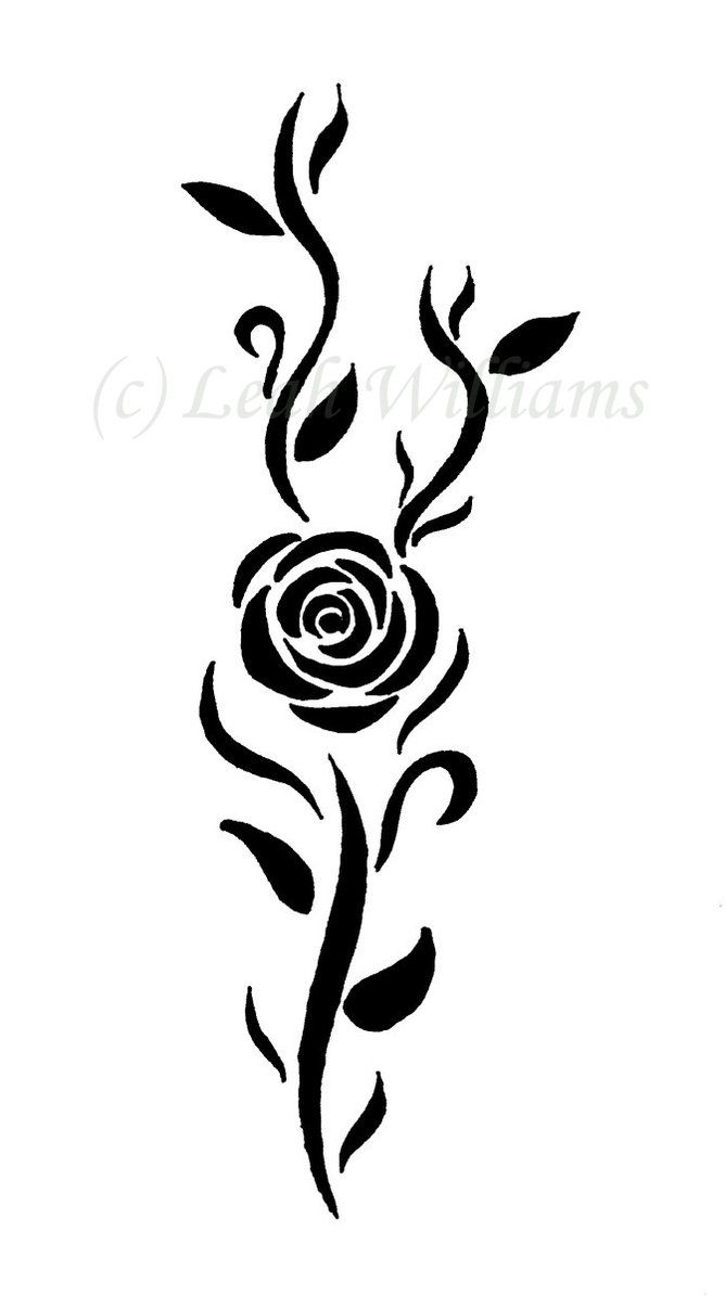 Tattoo Simple Rose: Pin On Style And Designs