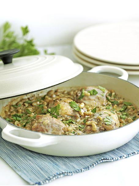 Colette's recept: romige kip met bonen (van Margriet)