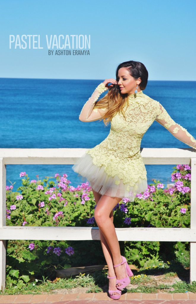 PASTEL VACATIONI had the pleasure of rocking this epic couture frock whilst  interviewing for Scoopla,