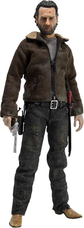 Walking Dead Rick Grimes Sixth-Scale Action Figure