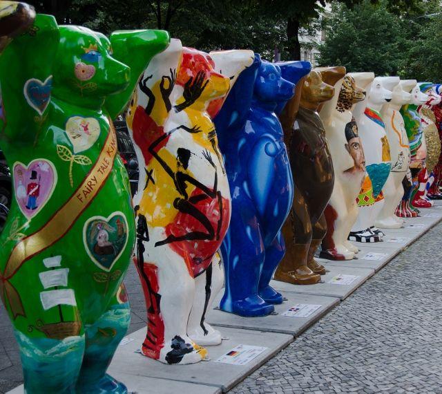 Bear statues, Berlin, Germany