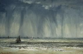 Gustave Courbet - Gustave Courbet, Die Wasserhose