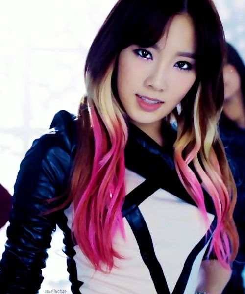 Ombre Hair  Taeyeon  Taeyeon SNSD  Pinterest  The O39jays Ombre And G