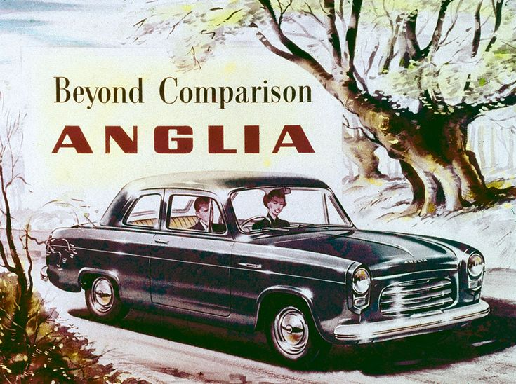 Ford Anglia was one of Ford UK's most popular cars