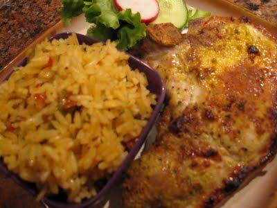 Daisy Martinez: Yellow Rice, Best rice ever!