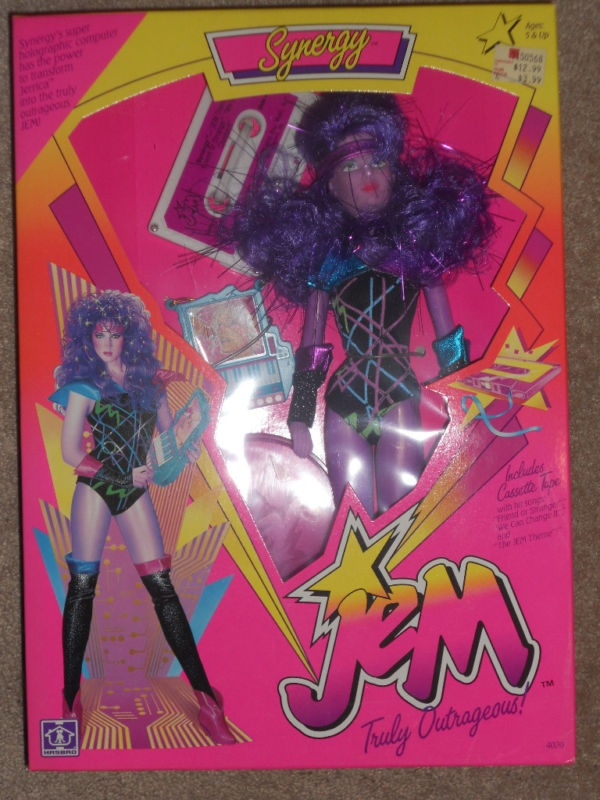 Synergy $199.00! Jem still comes on tv! LOVED JEM AND THE HOLLOGRAMS!