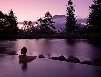 One of the Best Japanese Baths - The Hilton Niseko Village Hotel Onsen