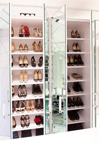 We're sort of obsessed with this epic closet!
