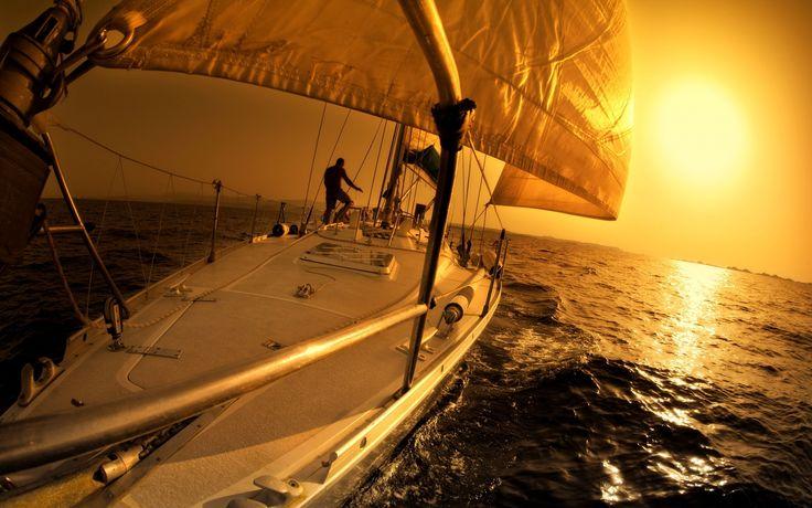 : Boats Wallpapers, Sailboats Interiors, Crafts Pinterest, Elounda Gulf, Gulf Villas, Boats Categori, Sunsets Hd, Sailing Sunsets, Hd Wallpapers