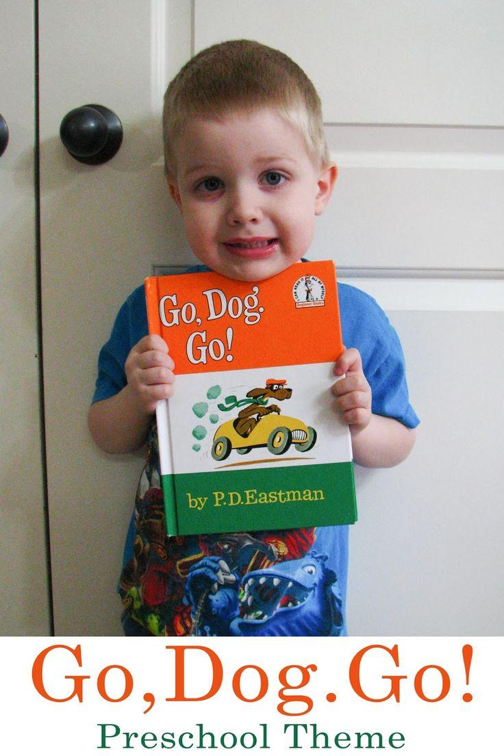 Mommy's Little Helper: Go, Dog. Go! Preschool Theme