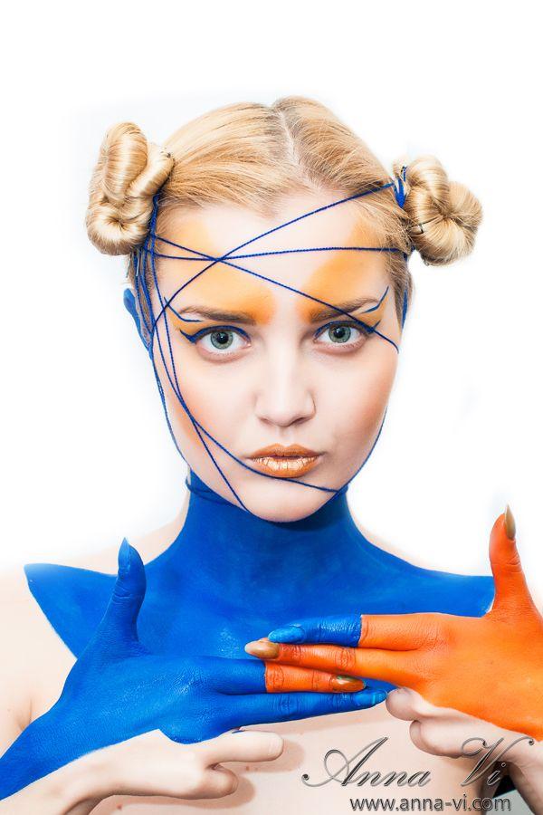 Creative makeup UFO  Ph: Dmitriy Melnichenko Md: Liza Dahovnyk MuaH: Anna Vi