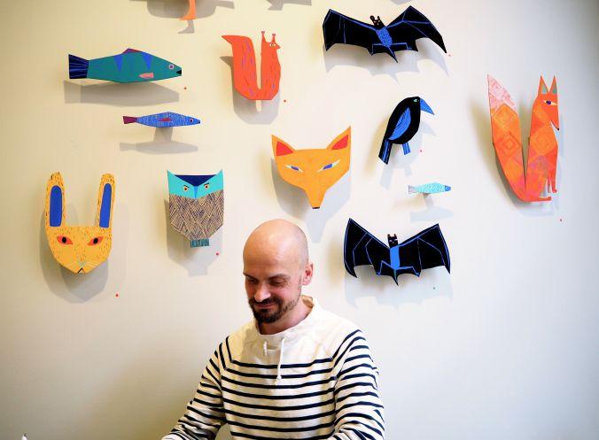 Matti Pikkujämsä is a Finnish artist, Illustrator and textile designer | https://www.instagram.com/mattipikkujamsa/