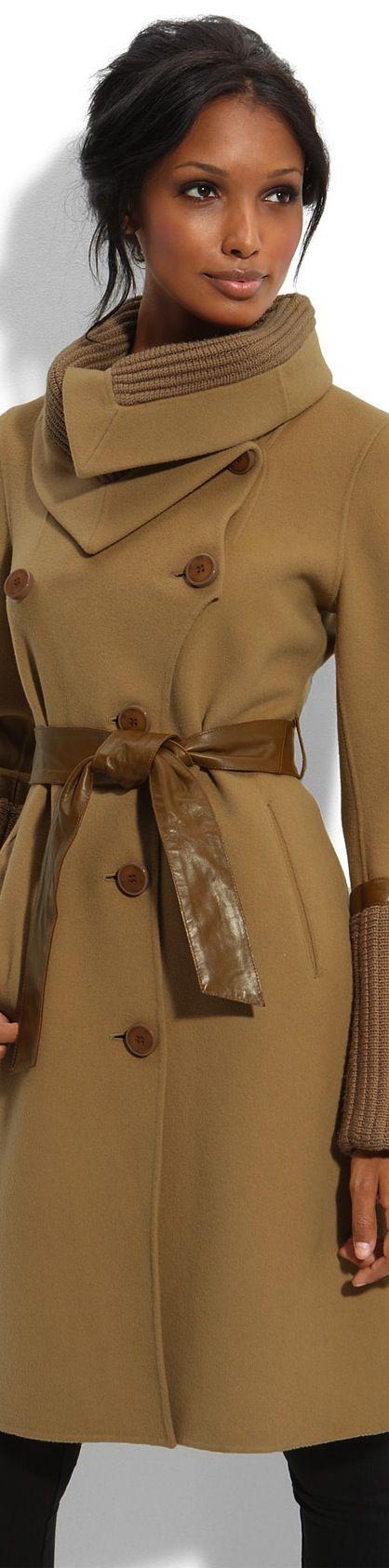 Beautiful Beige Winter Coat, Love The Collar - Fall/Winter Fashion