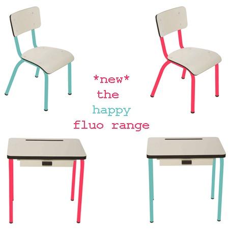 Gedaan met saaie kleuren, interieurs die niets uitstralen…deze nieuwe fluo collectie van Les Gambettes brengt wat meer pit in de speel-, woon- of slaapkamer!  www.littlefashionaddict.com