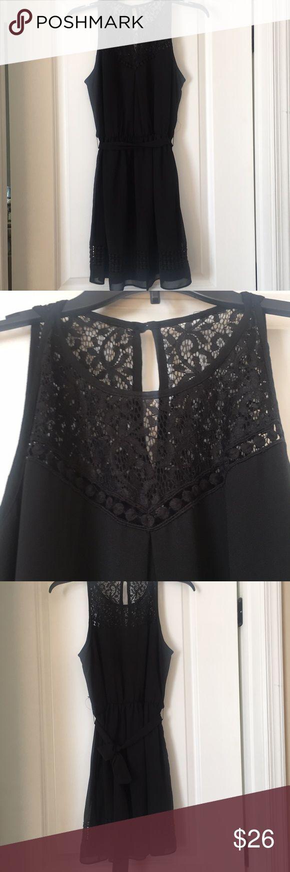 Black summer dress junior XL Brand new dress No tags XL junior  Knee length  Loose Iz Byer Dresses Midi