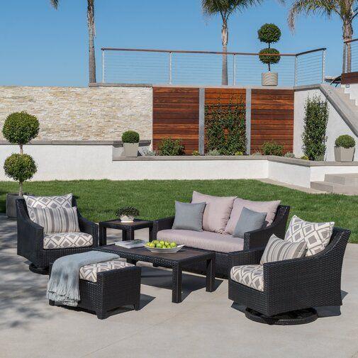 northridge 6 piece sunbrella sofa set with cushions orida rh pinterest com