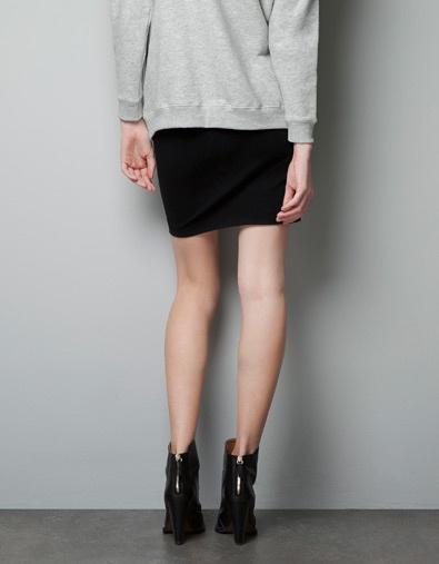 valentina black skirt
